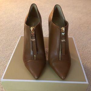 Michael Kors Leather Andi Boots